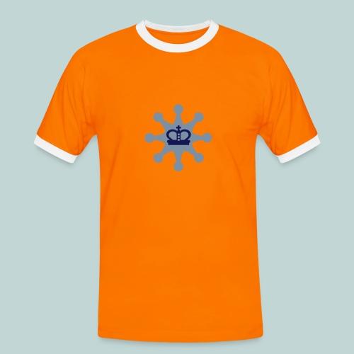 Schachsheriff - Männer Kontrast-T-Shirt