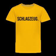 T-Shirts ~ Kinder Premium T-Shirt ~ Schlagzeug. Kindershirt