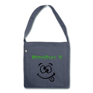 MediaPlay X Schultashe - Schultertasche aus Recycling-Material