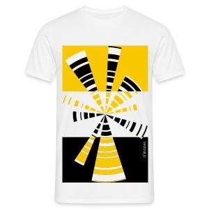 Radio Yellow - Man T-shirt   - Maglietta da uomo