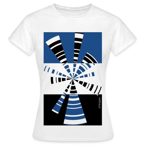 Radio Blue - Woman T-shirt - Maglietta da donna