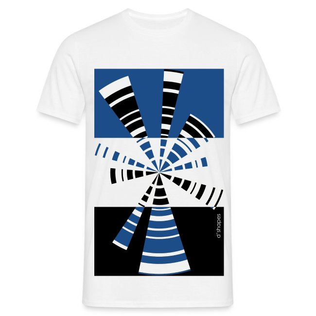 Radio Blue - Man T-shirt