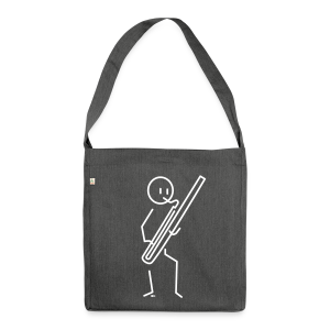 Bassoonist - Shoulder Bag made from recycled material