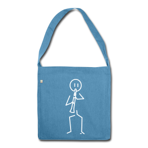 Clarinetist - Shoulder Bag made from recycled material