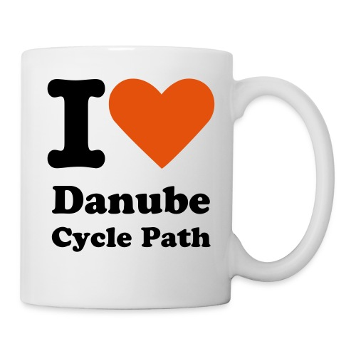 I love Danube cycle path mug II - Mug