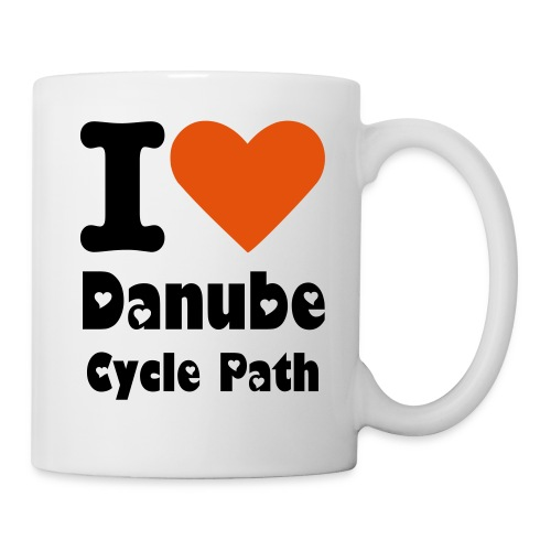I love Danube cycle path mug - Mug