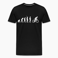Evolution bike saddle T-Shirts