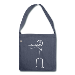 Flautist - Shoulder Bag made from recycled material