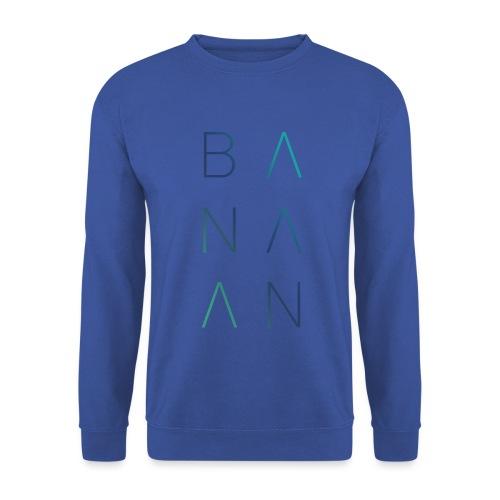 BANAAN/02 mannen sweater Russel - Mannen sweater