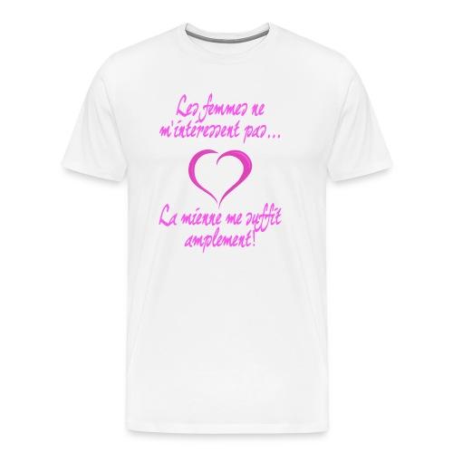 Ma femme me suffit - T-shirt Premium Homme