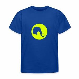 Elefant Logo - Kinder T-Shirt