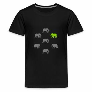 Elefanten - Teenager Premium T-Shirt
