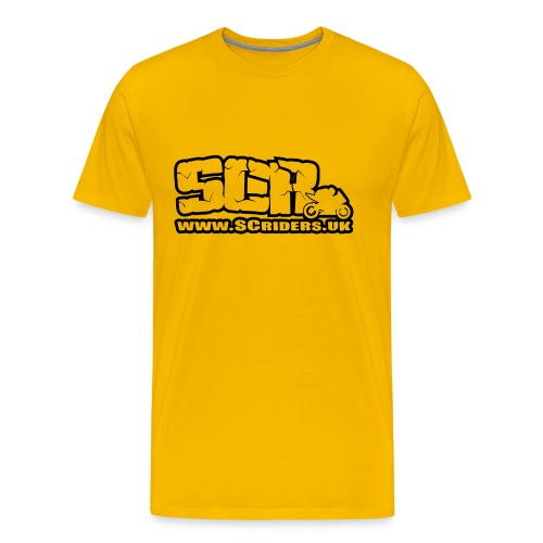 SCR Mens T-Shirt - Men's Premium T-Shirt