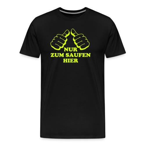 für die Jungs - Männer Premium T-Shirt