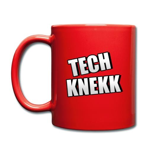 Kopp med Techknekk logo - Ensfarget kopp