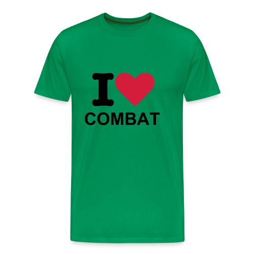 I Love Combat - T Shirt - Men's Premium T-Shirt