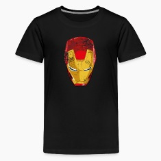 Iron Man Maske 2 Teenage T-Shirt