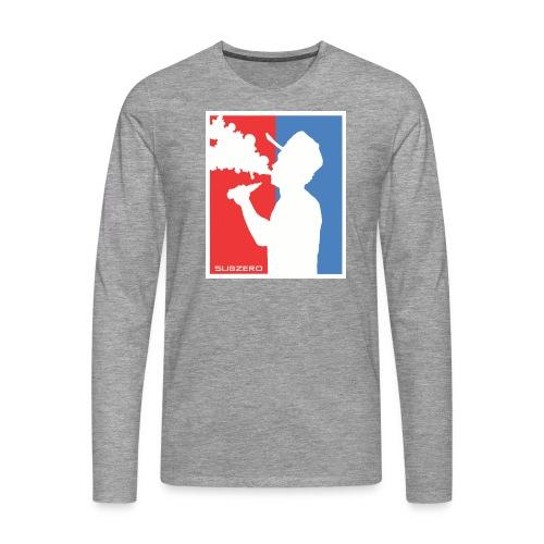 Vaper NBA Style - Männer Premium Langarmshirt