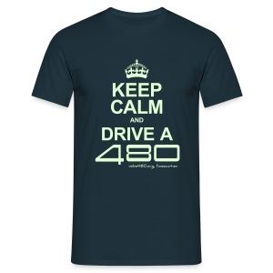 T-shirt homme phosporescent - Keep Calm - T-shirt Homme