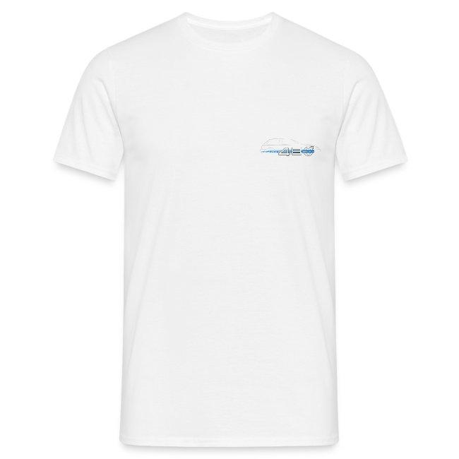 T-shirt homme recto/verso - Je suis 480