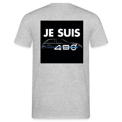 T-shirt homme recto/verso - Je suis 480 - T-shirt Homme