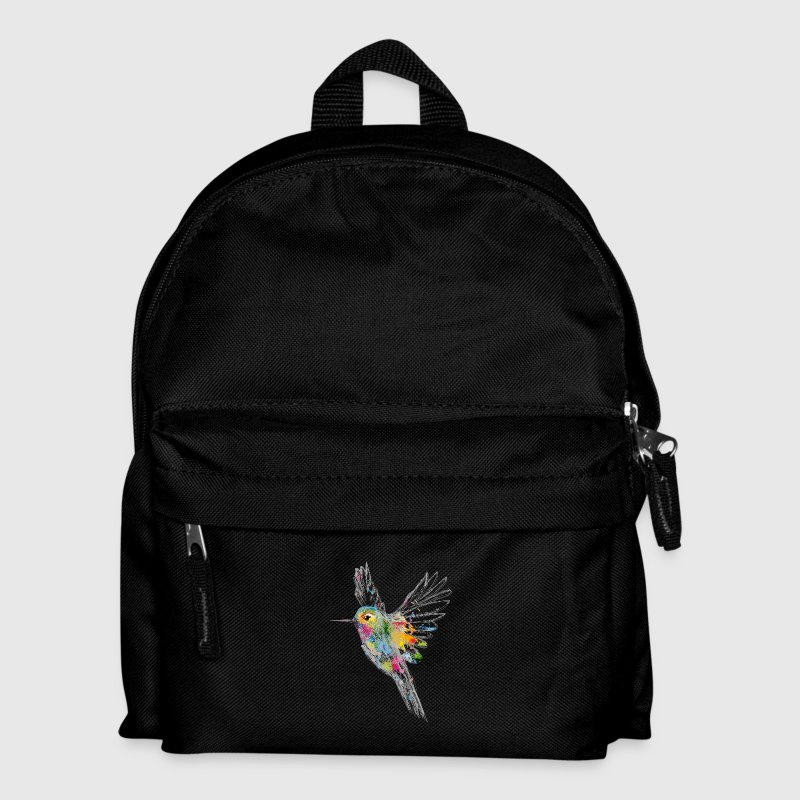Hummingbird Watercolor Graffiti Bags & Backpacks - Kids' Backpack