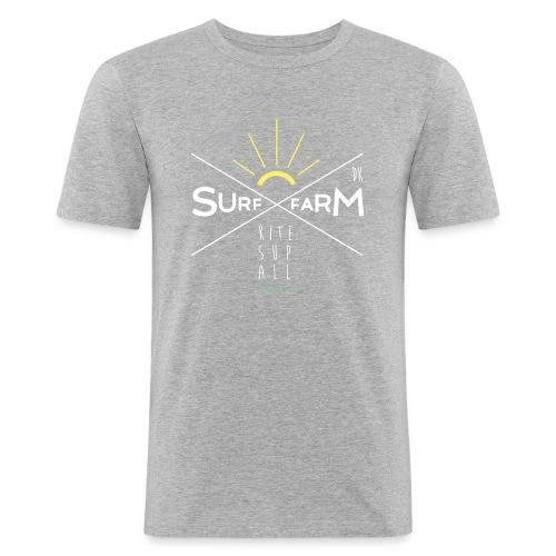 surffarm GREY TO STAY - Men's Slim Fit T-Shirt