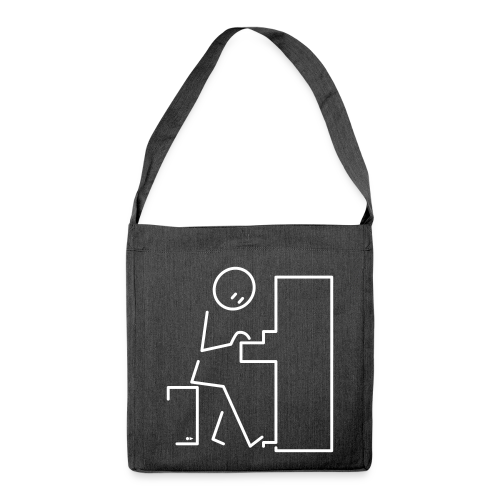 Pianist - Shoulder Bag made from recycled material