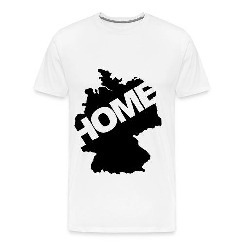 Deutschland Home Weiss - Männer Premium T-Shirt