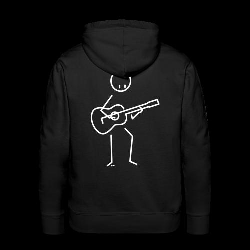 Guitarist - Men's Premium Hoodie
