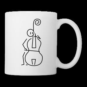 Double bassist [single-sided] - Mug