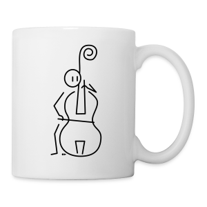 Double bassist [single-sided] - Mug