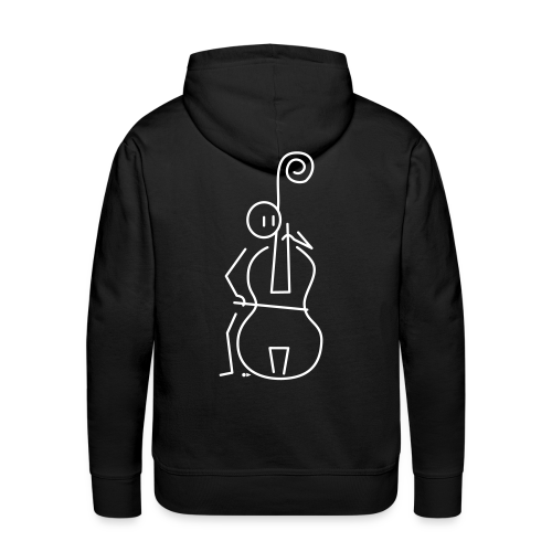 Double bassist - Men's Premium Hoodie