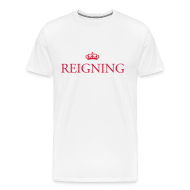 T-Shirts ~ Men's Premium T-Shirt ~ Gin O'Clock Reigning Men's T-Shirt