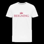 T-Shirts ~ Men's Premium T-Shirt ~ Gin O'Clock Reigning Men's T-Shirt