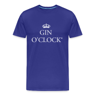 T-Shirts ~ Men's Premium T-Shirt ~ Gin O'Clock Men's T-Shirt