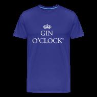 T-Shirts ~ Men's Premium T-Shirt ~ Gin O'Clock Men's T-Shirt