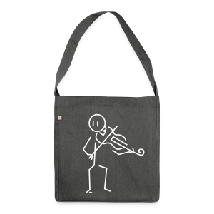 Violist - Shoulder Bag made from recycled material