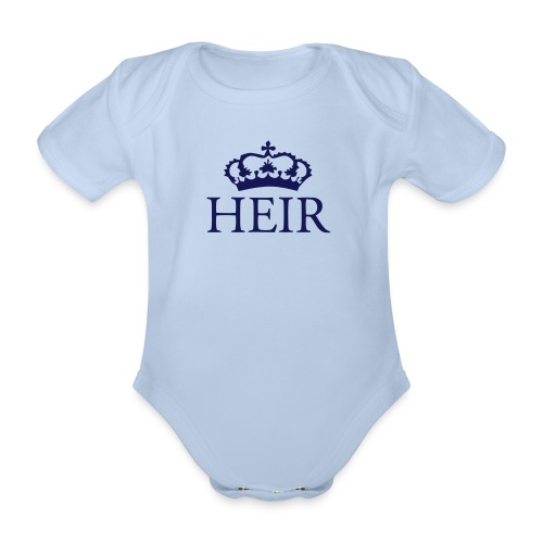 Gin O'Clock Heir Baby One-Piece - Organic Short-sleeved Baby Bodysuit