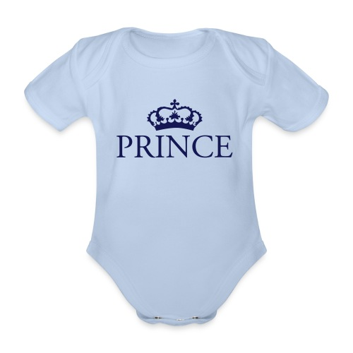 Gin O'Clock Prince Baby Vest  - Organic Short-sleeved Baby Bodysuit
