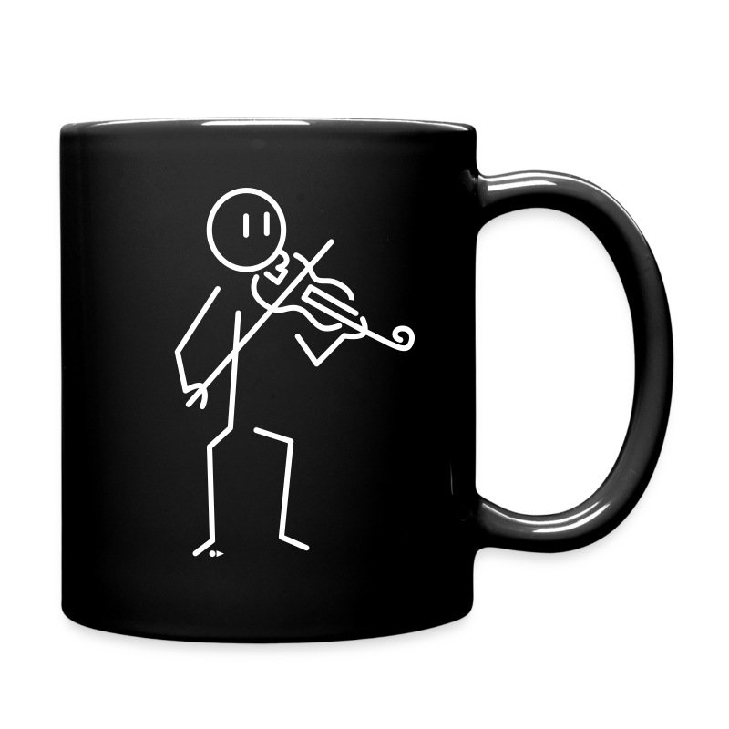 Violinist [double-sided] - Full Colour Mug