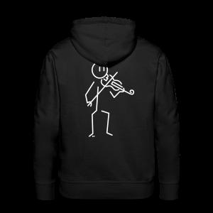 Violinist - Men's Premium Hoodie