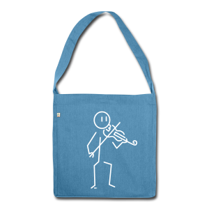 Violinist - Shoulder Bag made from recycled material