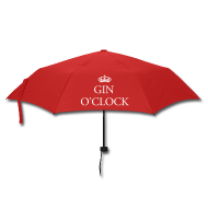 Umbrellas ~ Umbrella (small) ~ Gin O'Clock Small Umbrella