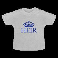 Baby Shirts  ~ Baby T-Shirt ~ Gin O'Clock Heir Baby T-Shirt