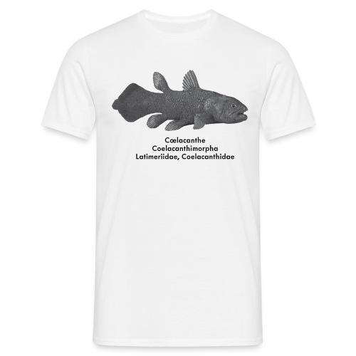 Cœlacanthe - T shirt Adulte - T-shirt Homme
