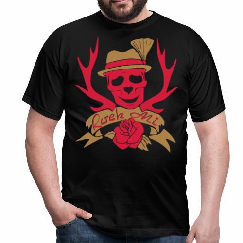Männer T-Shirt - Gaudishirt, hirsch t-shirt, lausmadl, oktoberfest t-shirt, tracht t-shirt, wild t-shirt, edelwild, lederhose, dirndl, oktoberfest