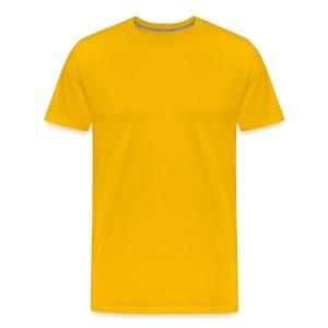 Gule - Premium T-skjorte for menn
