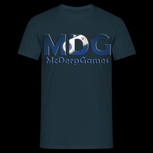 MDG McDerpGames Shirt Mannen - Mannen T-shirt
