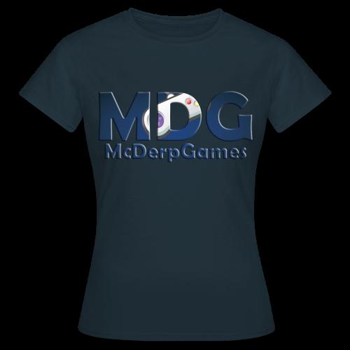 MDG McDerpGames Shirt Vrouwen - Vrouwen T-shirt
